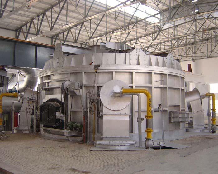 圆形熔铝炉