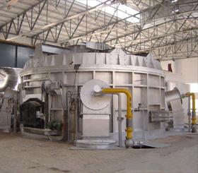 天津圆形熔铝炉