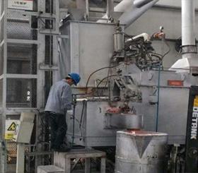 铝合金集中熔化炉