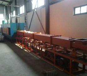 RST系列网带式粉末冶金烧结炉