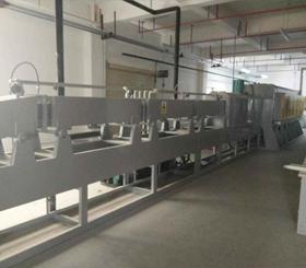 天津连续式可控气氛铝钎焊炉